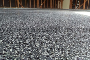 Chip Flooring Garage Epoxy Dallas